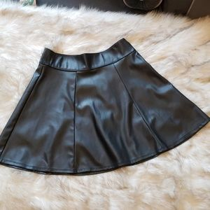 Dresses & Skirts - Vegan Leather Skirt